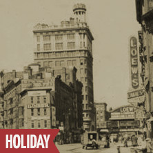 •The Annual Christmas Day Jewish Lower East Side Tour